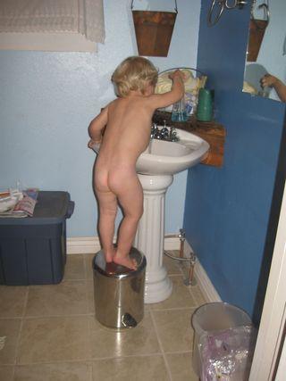 Sam -wash hands